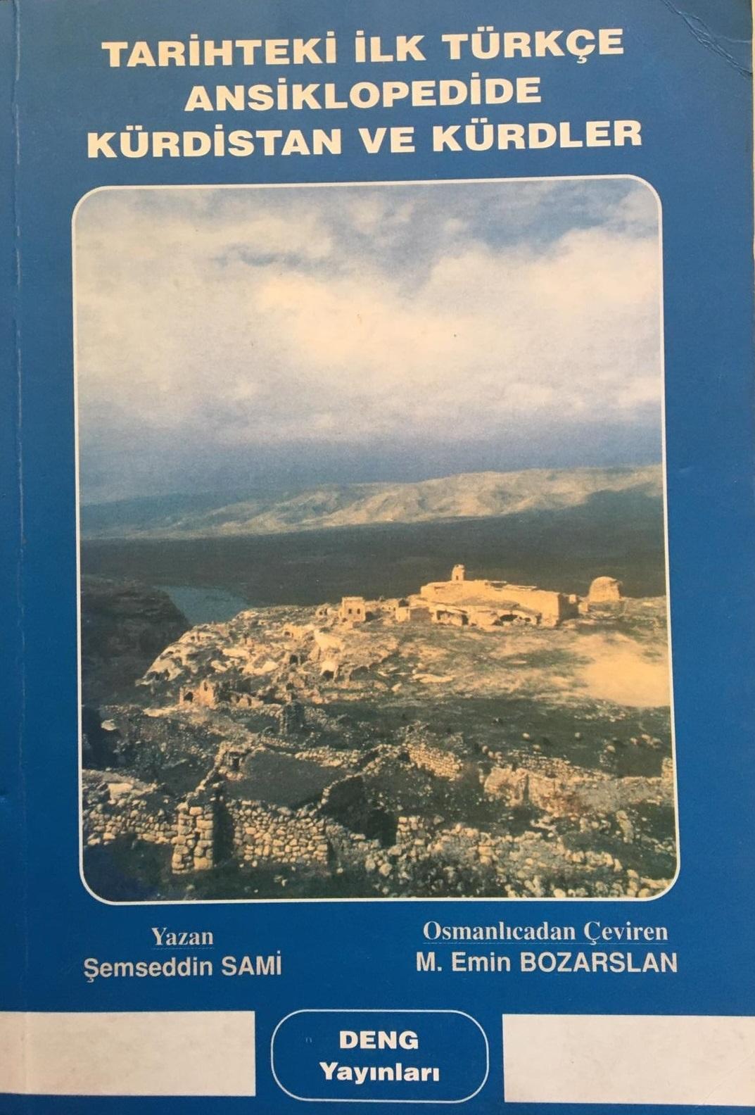 Tarihte İlk Türkçe Ansiklopedide Kürdistan ve Kürtler Kitap Resmi