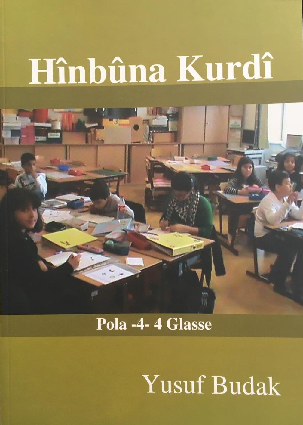 Hînbûna Kurdî Pola 4-4 Glasse Kitap Resmi